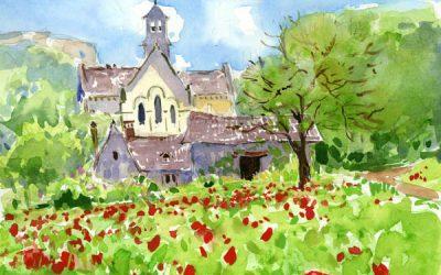 Dordogne Sketchbook and Paintings