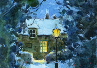 England Winter by Lita Judge
