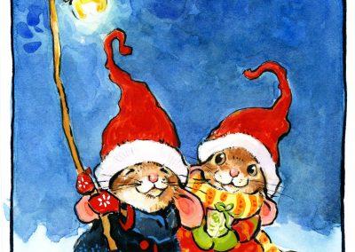 Christmas Mice by Lita Judge