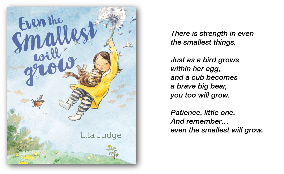 Even The Smallest by Lita Judge